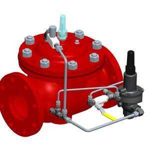 Fire Foam Pressure Relief Valve
