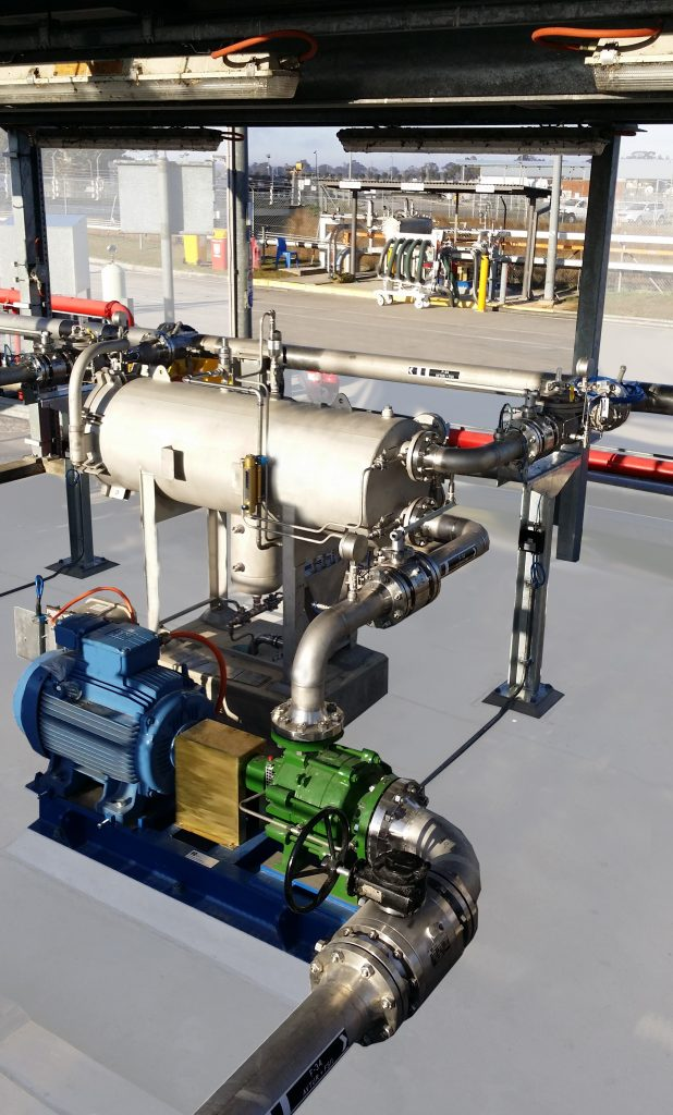 Model 120-6 Rate of Flow/Check Valve Installed on a Military Base