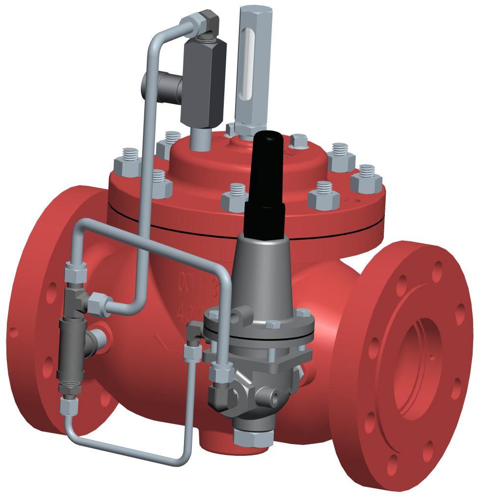 VAN DỊCH VỤ - OCV- MỸ -Model 108-2 Pressure Sustaining/ Backpressure Control Valves
