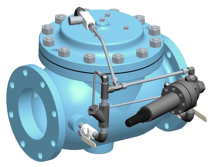 VAN HỒI LƯU OCV-MỸ - Model 108-2HP Pressure Relief / Pressure Sustaining Valve