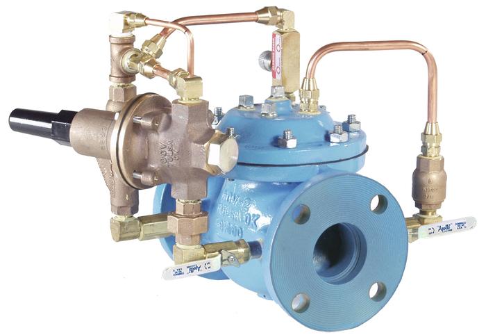 VAN HỆ THỐNG NƯỚC THƯƠNG MẠI - OCV MỸ -Model 108-3 Pressure Relief/ Pressure Sustaining and Check Valve