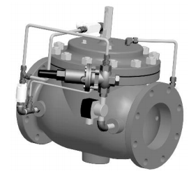 Model 108-34- VAN ĐÓNG NGẮT OCV - Model 108-34 Pressure Control Valve with Check Feature and Solenoid Control