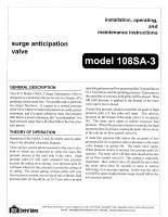 108SA-3_Pressure_Relief_Valve