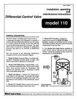 110_Differential_Control_Valve