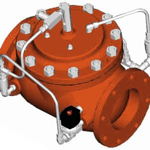 Model 115-26TR Solenoid Control/ Check/ Thermal Relief Valve