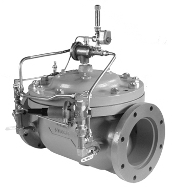Surge Anticipation Control Valve for Mining