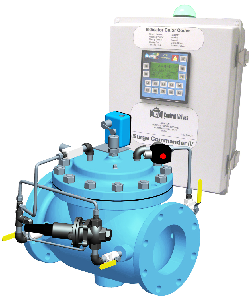 Surge Anticipation Control Valve – Electronic Type
