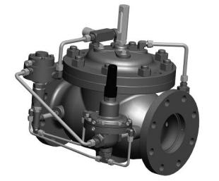 Model 119-15   - VAN ĐÓNG NGẮT OCV -Model 119-15 Filter Separator Rate of Flow/Shut-Off/Check Valve
