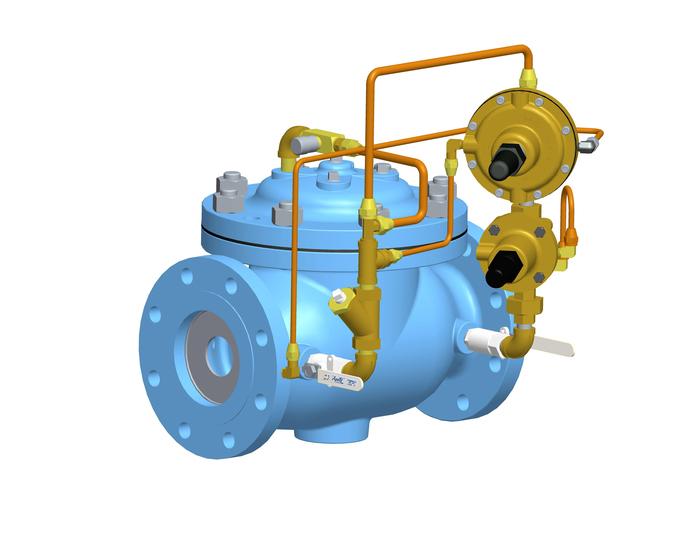 VAN Rate of Flow Control and Pressure Reducing OCV MỸ - Model 120-2 Rate of Flow Control Valve and Pressure Reducing Valve