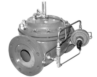 Model 120-6 Non-Surge Check Valve with flow control