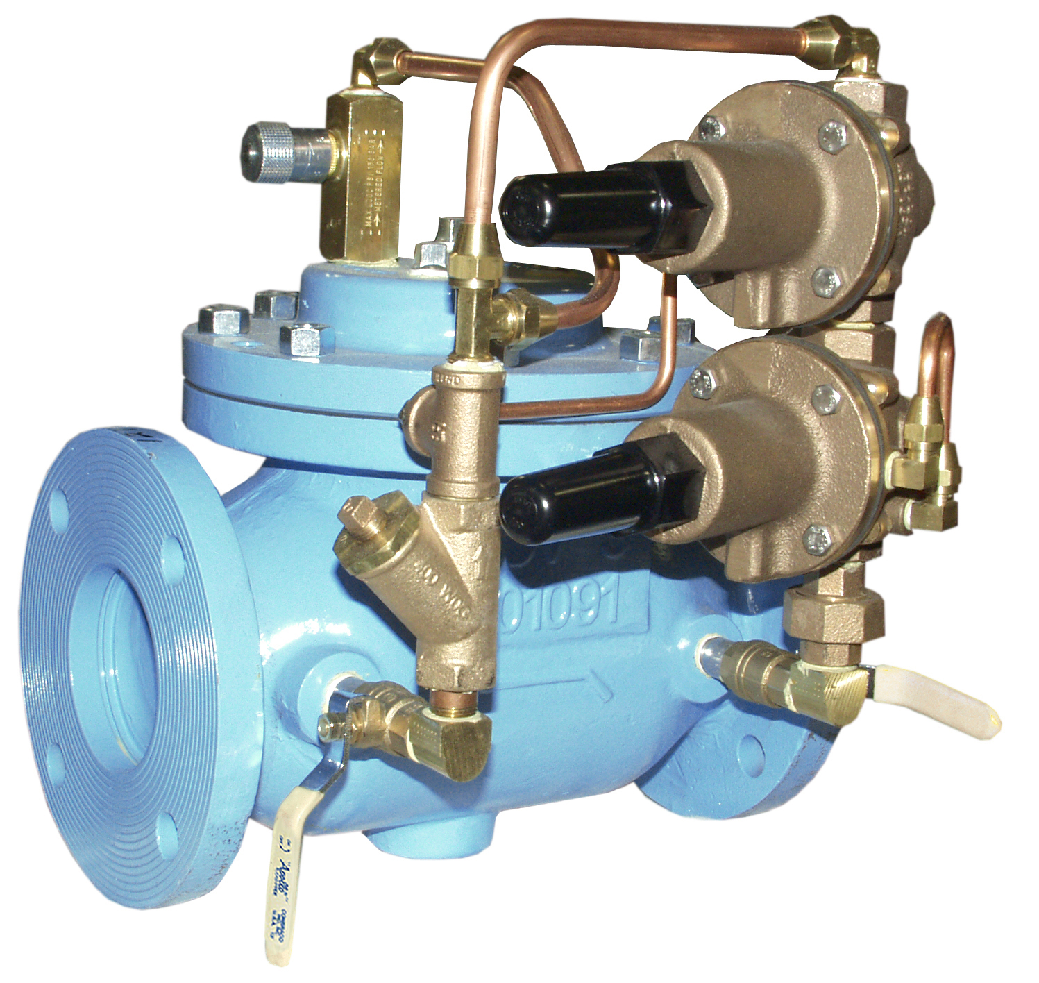 VAN KHAI THÁC MỎ - OCV - MỸ - Model 127-2 Pressure Reducing and Pressure Sustaining Valve