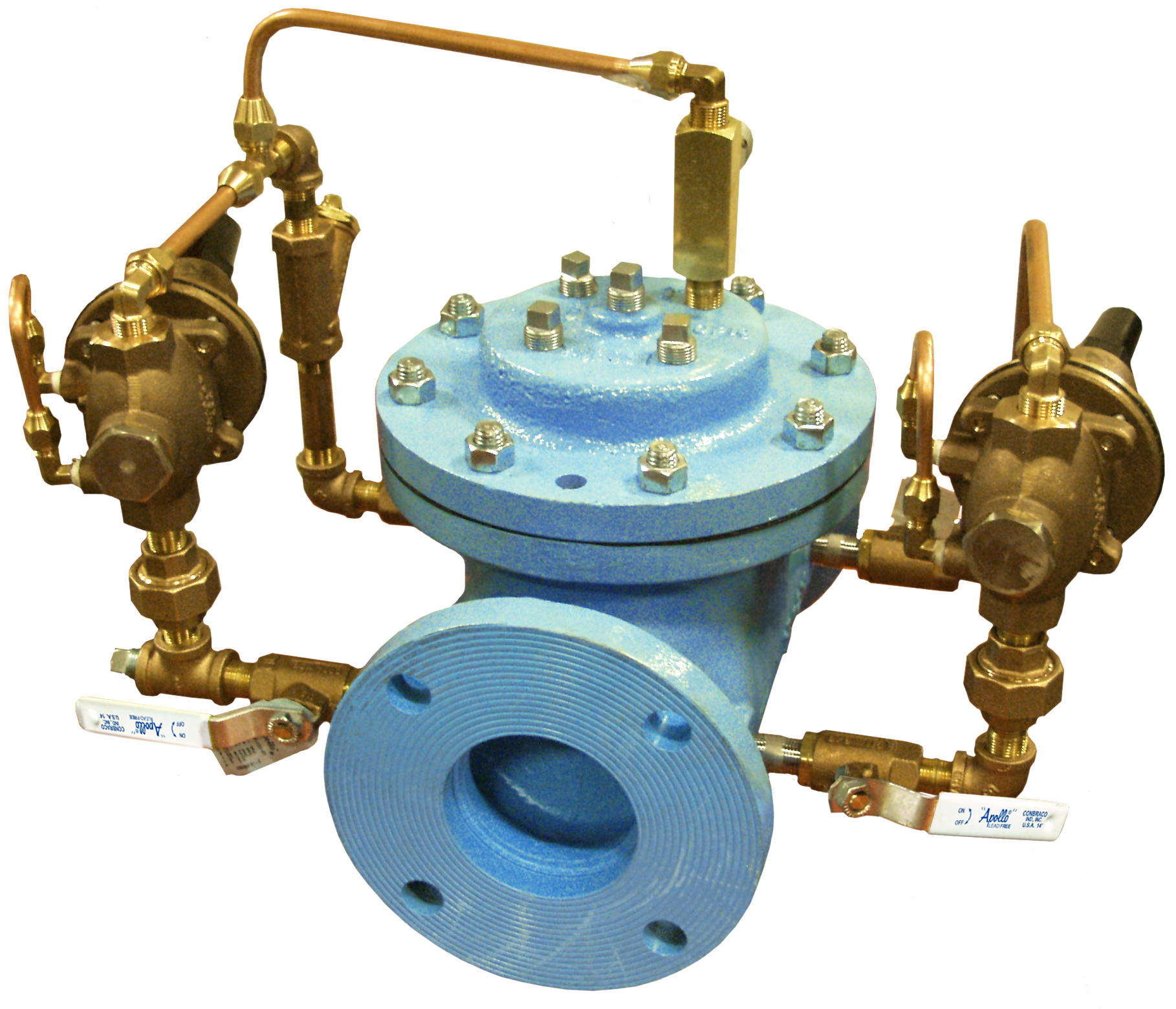 VAN KHAI THÁC MỎ - OCV - MỸ - Model 127-3LF/ 727-3LF Pressure Reducing with Low Flow Valve