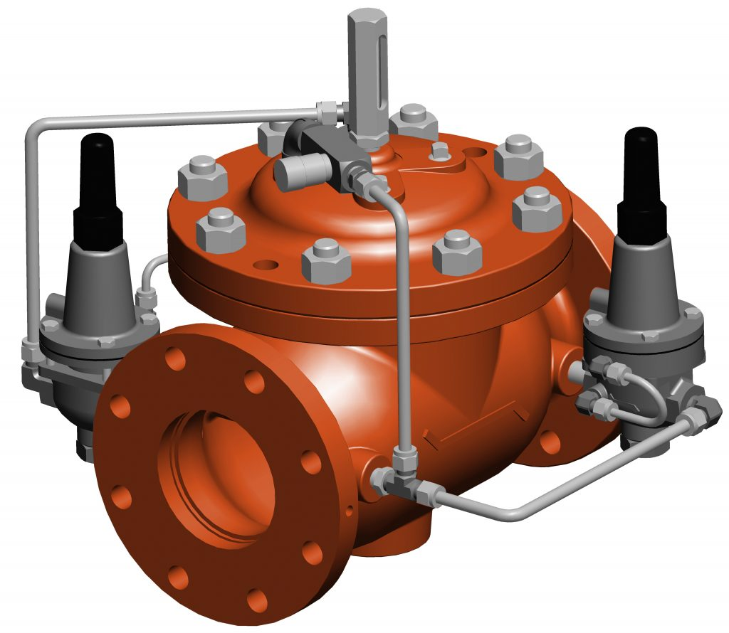 Model 127-5 - VAN ĐÓNG NGẮT OCV-Model 127-5 Pressure Reducing and Surge Control Valve