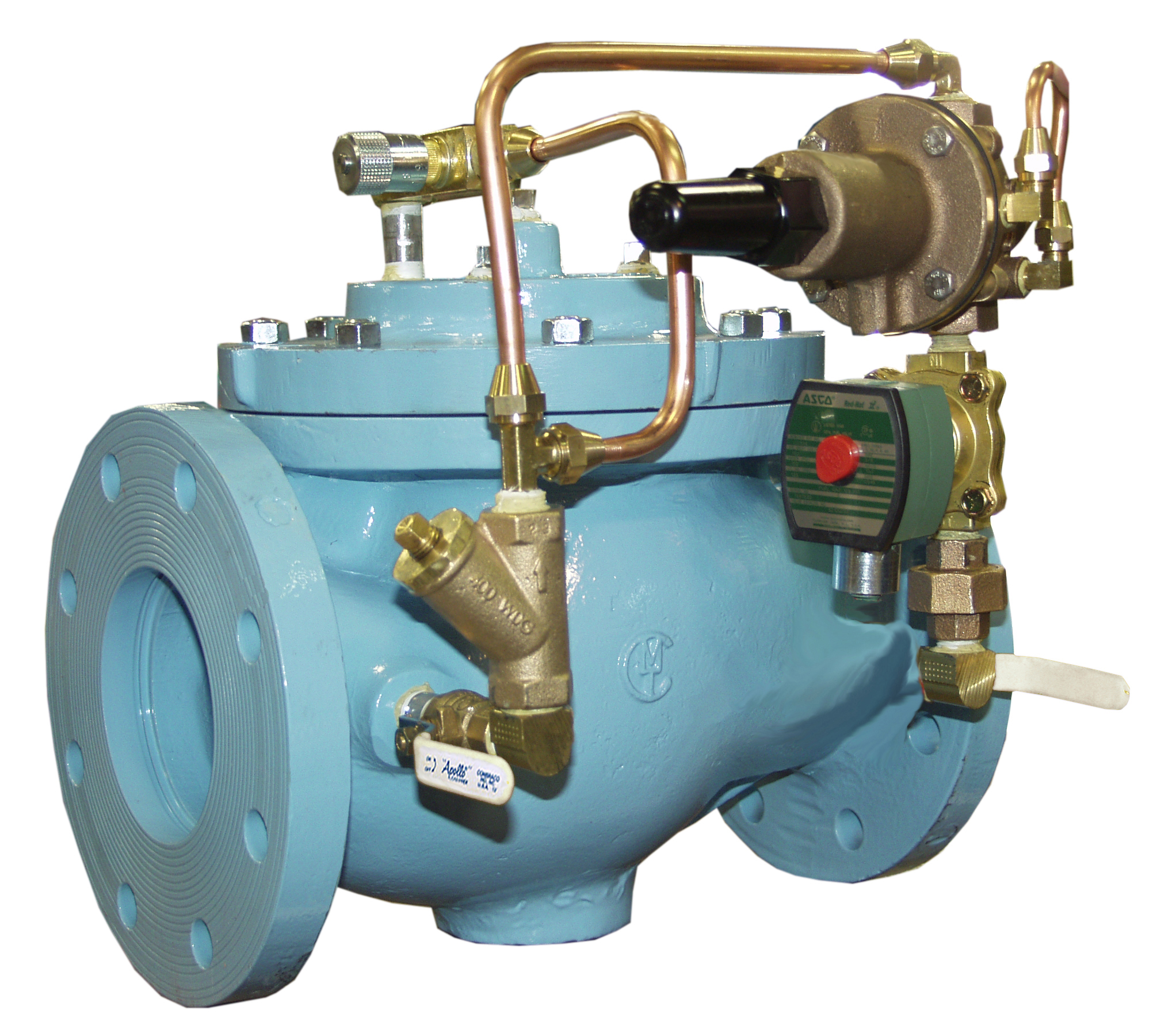 VAN KHAI THÁC MỎ - OCV - MỸ -Model 127-80 Pressure Reducing and Solenoid Shut-Off Valve