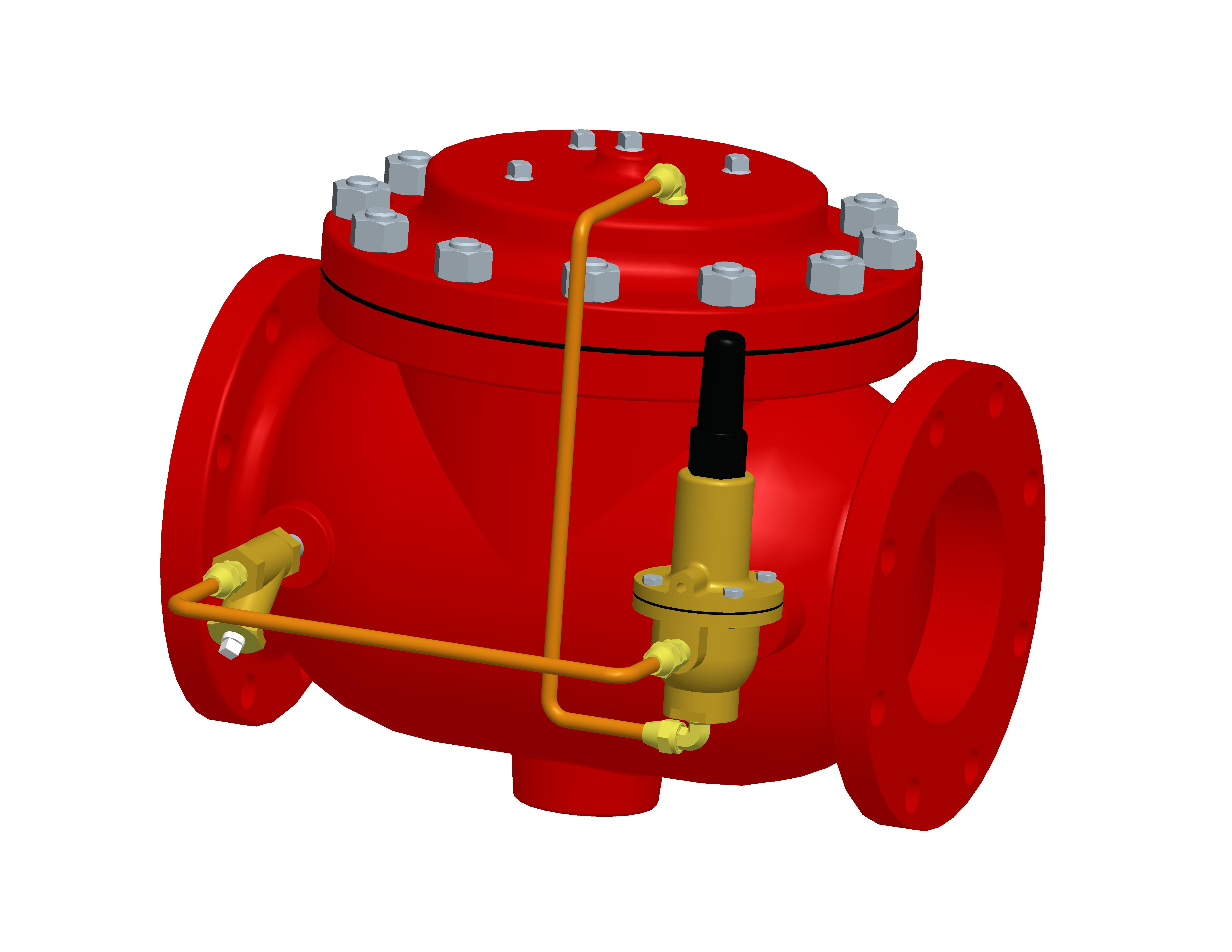 Fire Pressure Control Valves Model 129FC