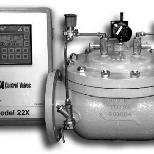 Model 22X Electronic Position Control Valve