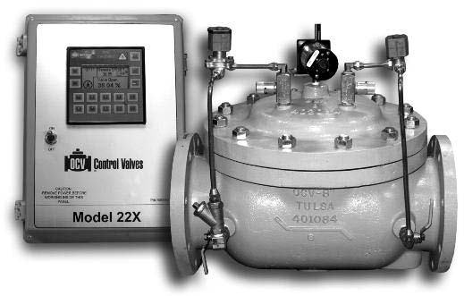 Model 22X Electronic Position Control Valve
