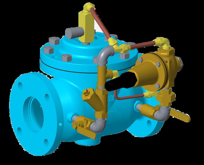 VAN HỆ THỐNG NƯỚC THƯƠNG MẠI - OCV MỸ Model 708-2 Reduced Port Pressure Relief/ Pressure Sustaining Valve