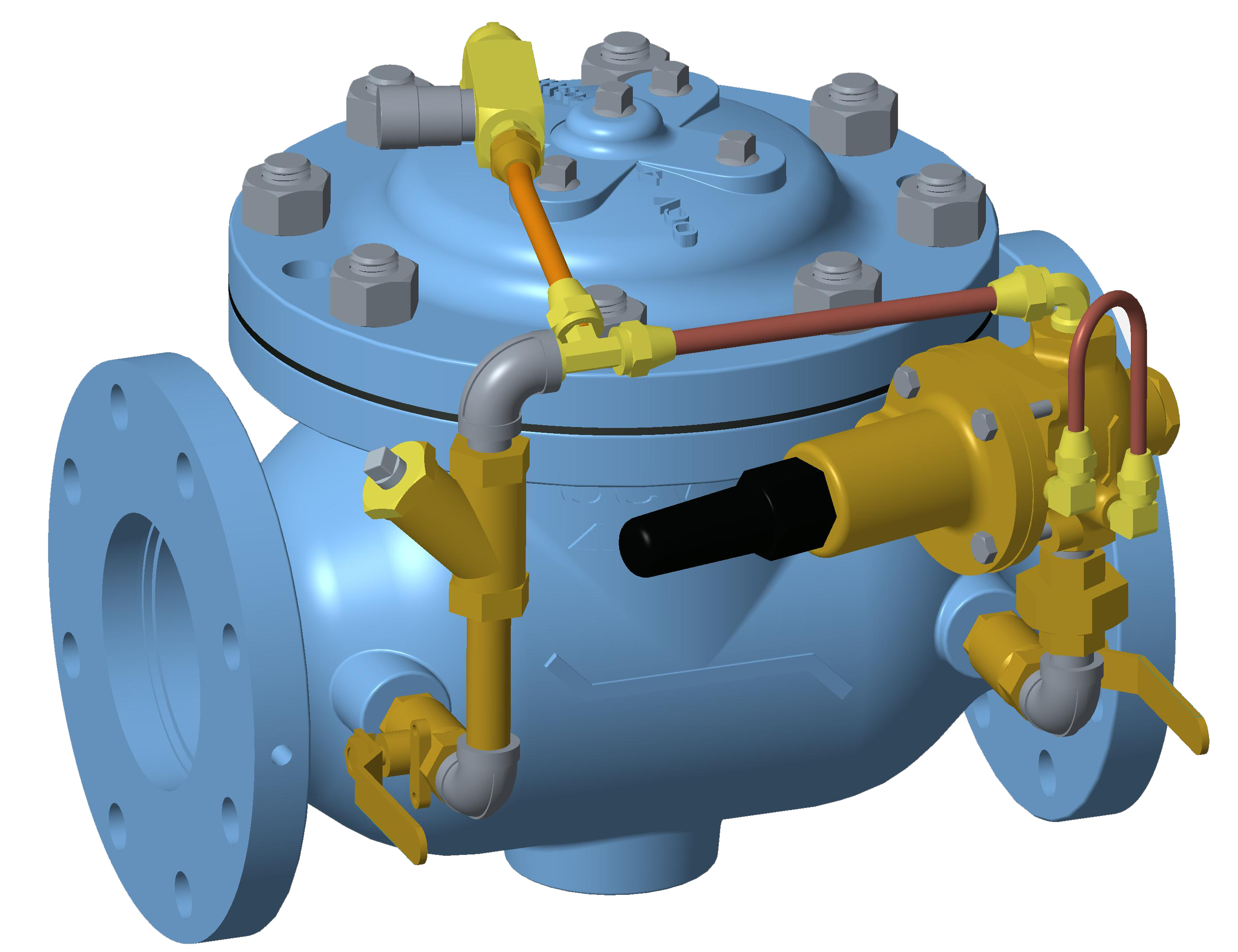 VAN KHAI THÁC MỎ - OCV - MỸ -Model 727-3 Reduced Port Pressure Reducing Valve