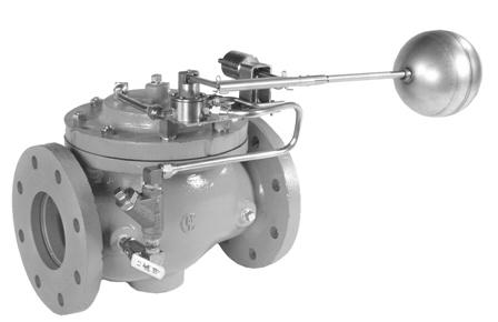 VAN KHAI THÁC MỎ - OCV - MỸ Series 125 Pump Control