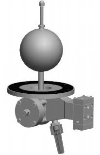 Model 800B - VAN ĐÓNG NGẮT OCV -Model 800B Interface Float Pilot- Bottom Mounted