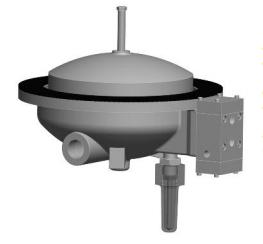 Model 800H - VAN ĐÓNG NGẮT OCV -Model 800H Interface Float Pilot- Bottom Mounted