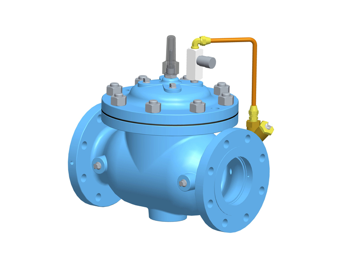 Check Valve with Closing Speed Control