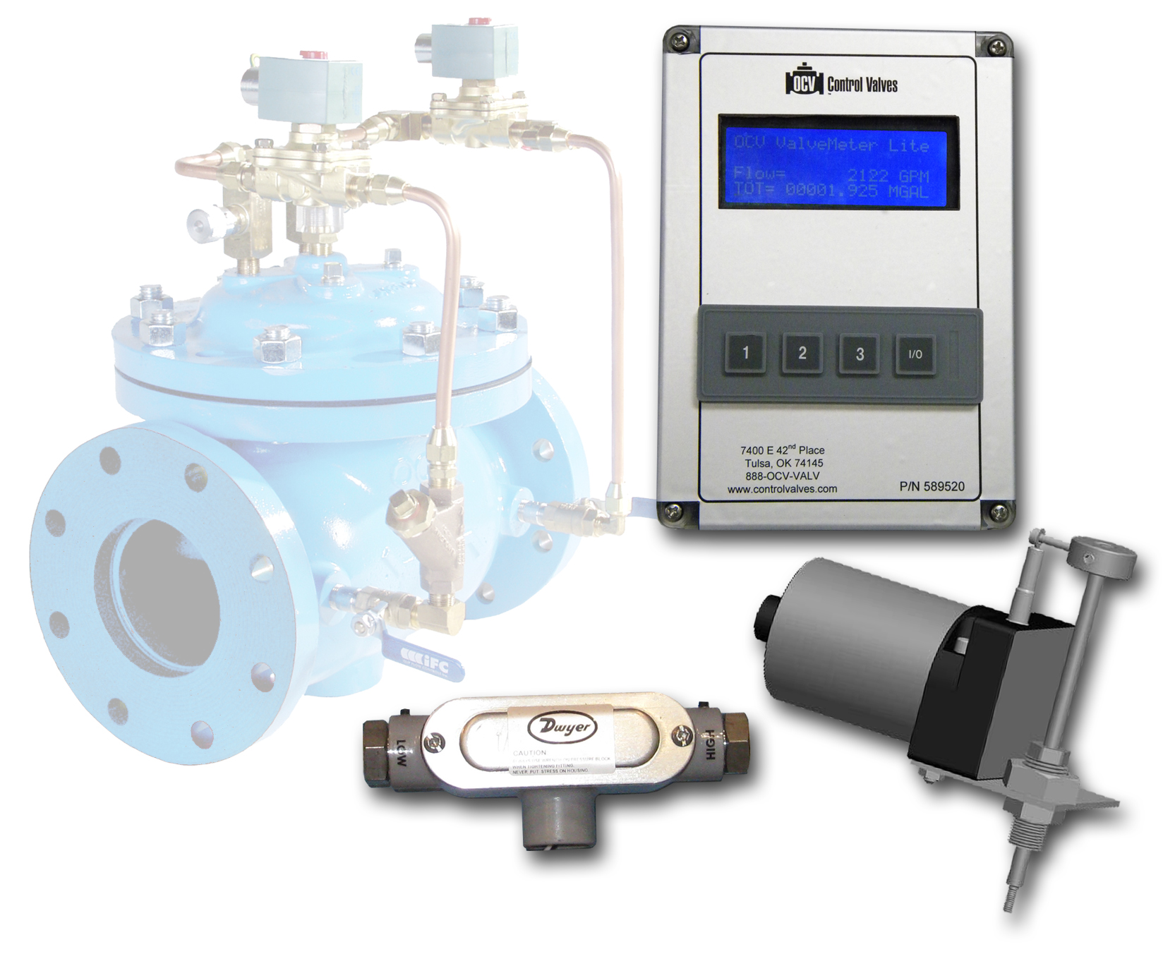 ValveMeter Lite Flow Measurement System