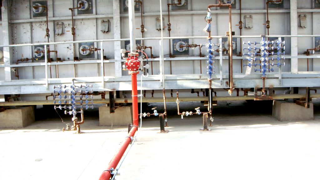 Model 116-4FC Installed in Fueling Tank Farm Fire Protection System