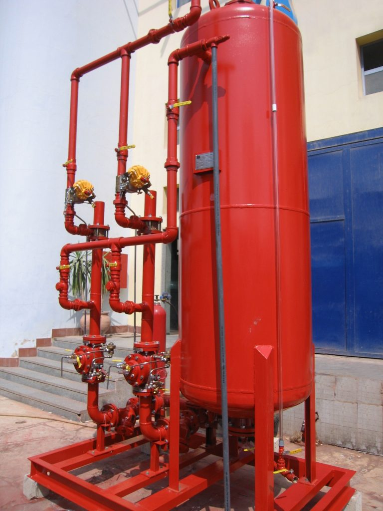 Model 116-4FC Mixing Water and Foam in a Fire Protection System