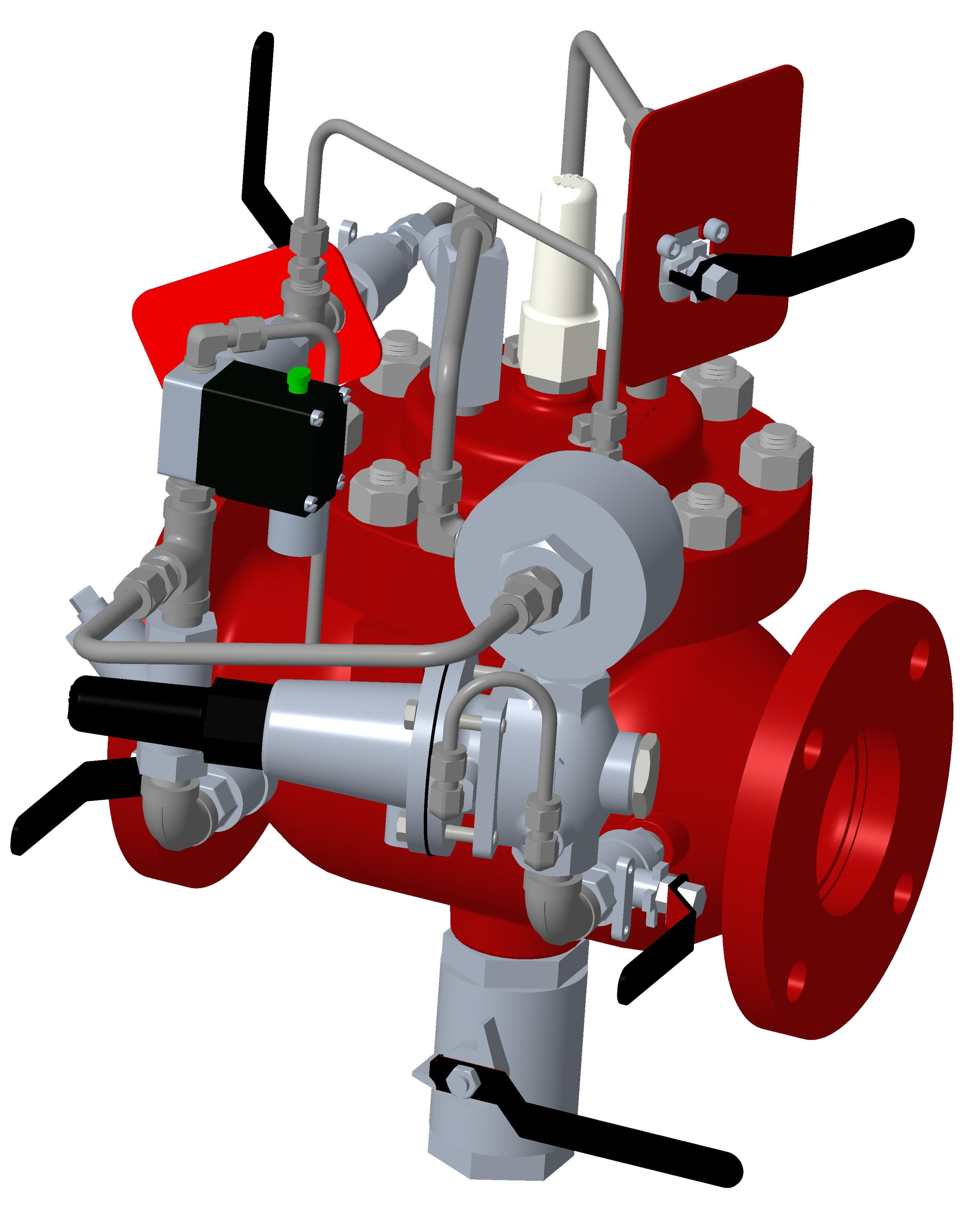Model 116-5MR Pressure Reducing/Solenoid Shutoff Deluge