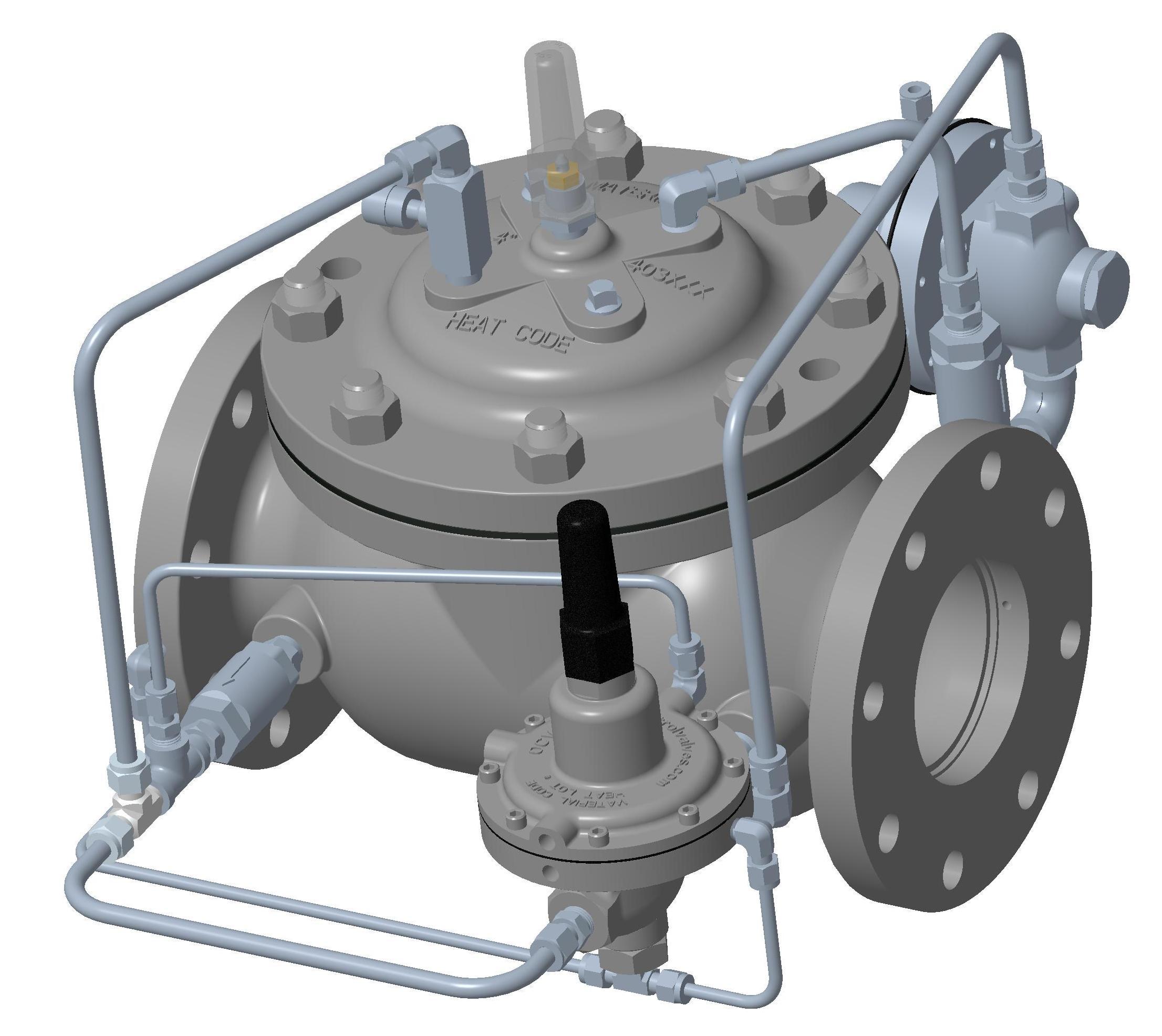 Model 120-6PS - VAN ĐÓNG NGẮT OCV- Model 120-6PS Rate of Flow Control/Pump Suction Control/Check Valve